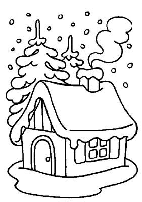 Winter Coloring Pages Fun Images To Color