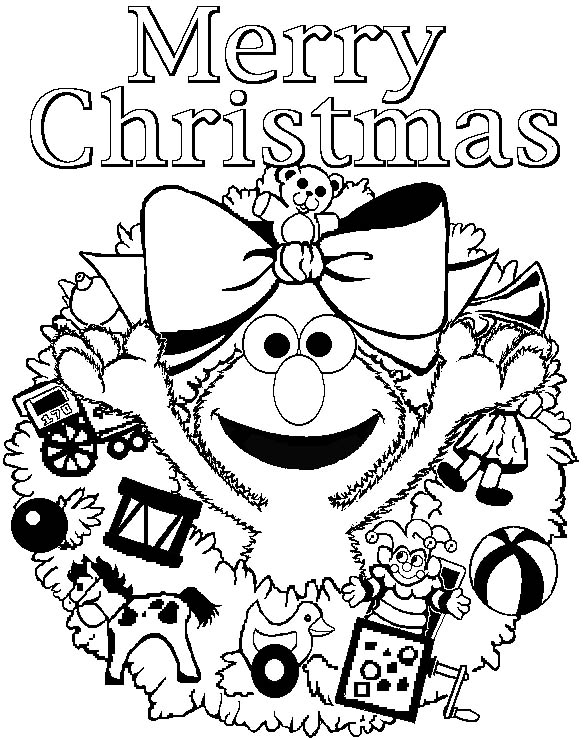 Christmas Coloring Pages Color In Pictures